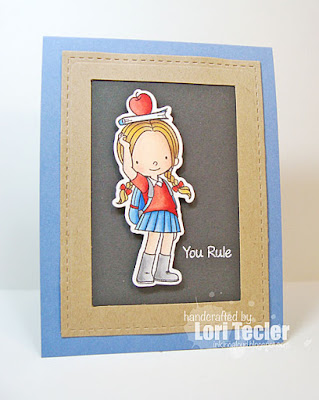 You Rule card-designed by Lori Tecler/Inking Aloud-stamps from My Favorite Things