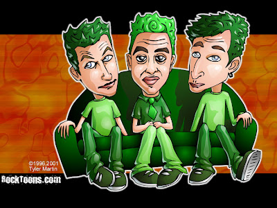 Green Day caricatura