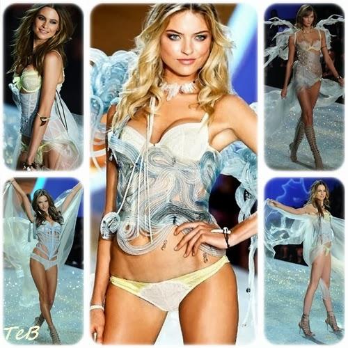 naufraghe allo sbando sulla passerella di Victoria's Secret : che sia un'ode alla carta igienica?