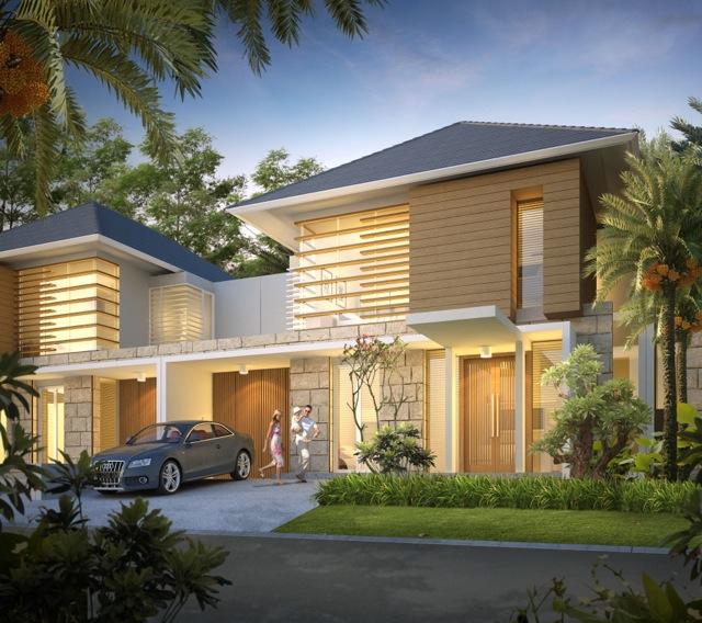 Inspirasi untuk Desain Rumah Minimalis Modern 2 Lantai Type 21 2015 yg fungsional