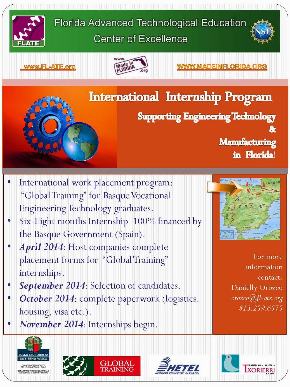 FLATE-HETEL Global Internship Program