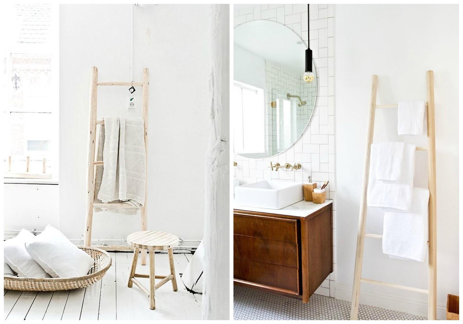 Escalera toallero zara home affordable dormitorio with escalera toallero zara home stunning - Escalera decorativa zara home ...