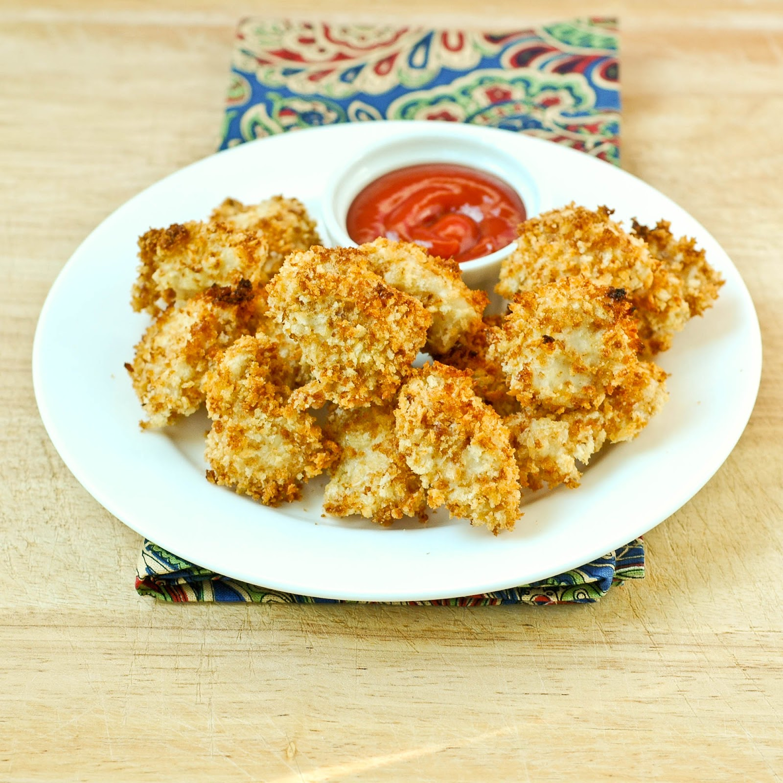 Good Thymes and Good Food: Crispy Baked Chicken Nuggets