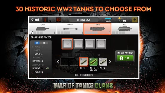 War of Tanks Clans apk