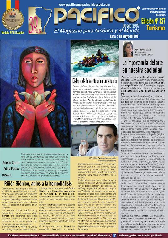 Revista Pacífico Nº 327 Turismo
