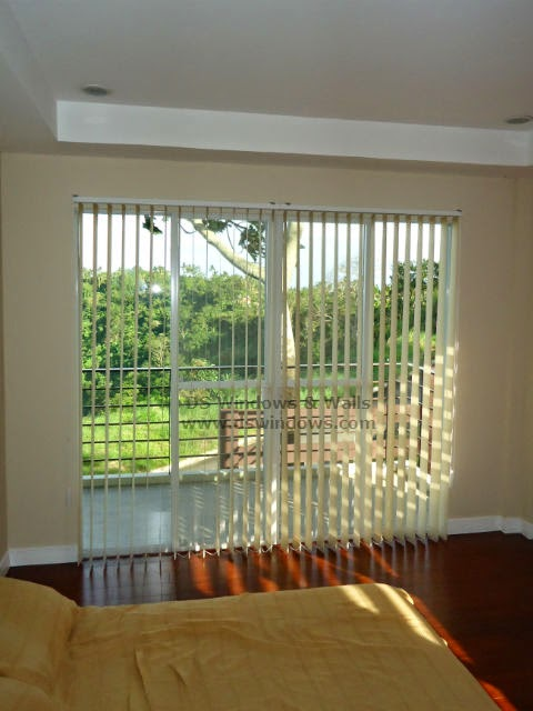 Fabric Vertical Blinds For A Peaceful Rest House Outside the Big Busy City - Los Baños, Laguna