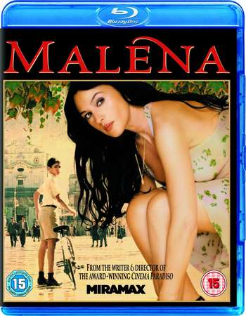 Poster Of Malena 2000 English UNCUT 300MB   Free Download Watch Online
