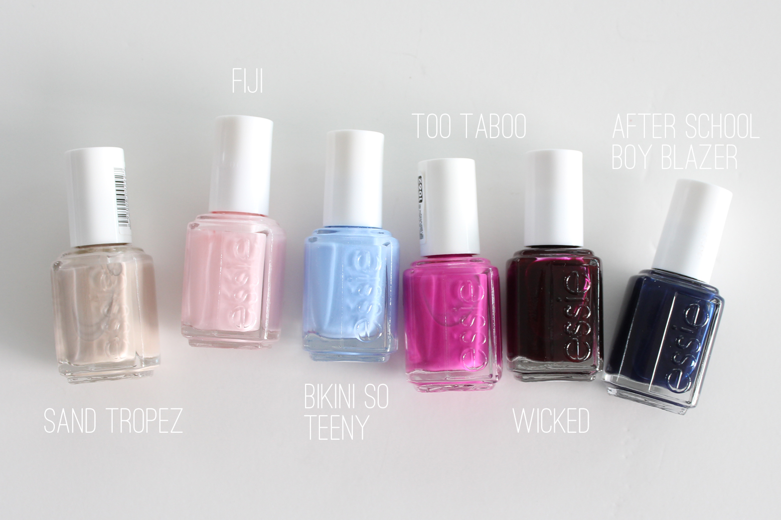 SIX ESSIE POLISHES EVERYONE SHOULD OWN - CassandraMyee
