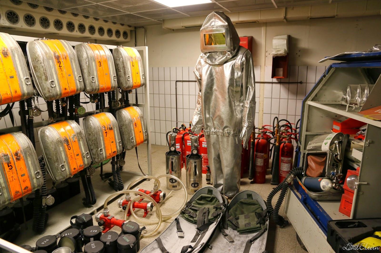 Dokumentationsstätte Regierungsstation Ahrweiler - Feuerwehr