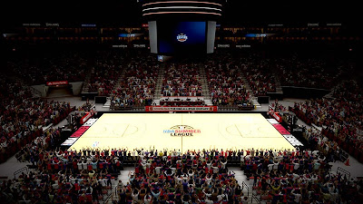 NBA 2K13 Summer League 2013 Court Mod