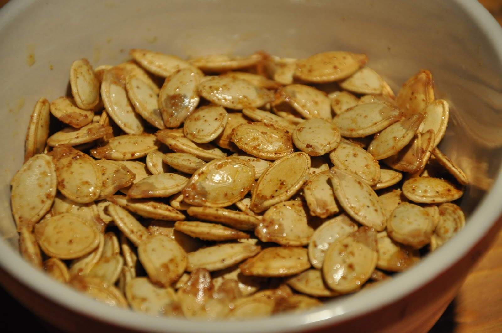 Elizabeth Ann's Recipe Box: Toasted Pumpkin Seeds