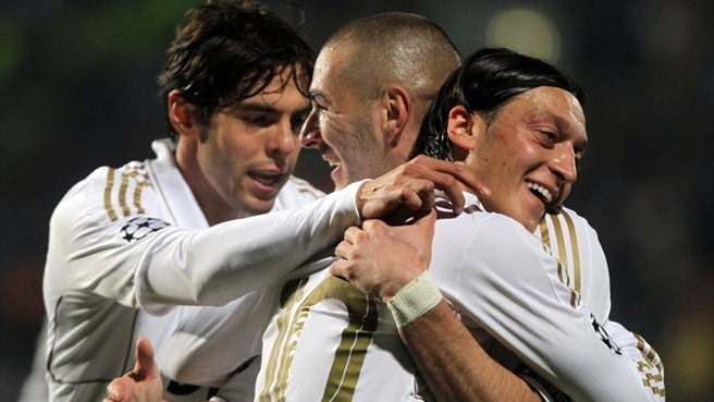 Liga dos Campeões - Apoel 0 x 3 Real Madrid