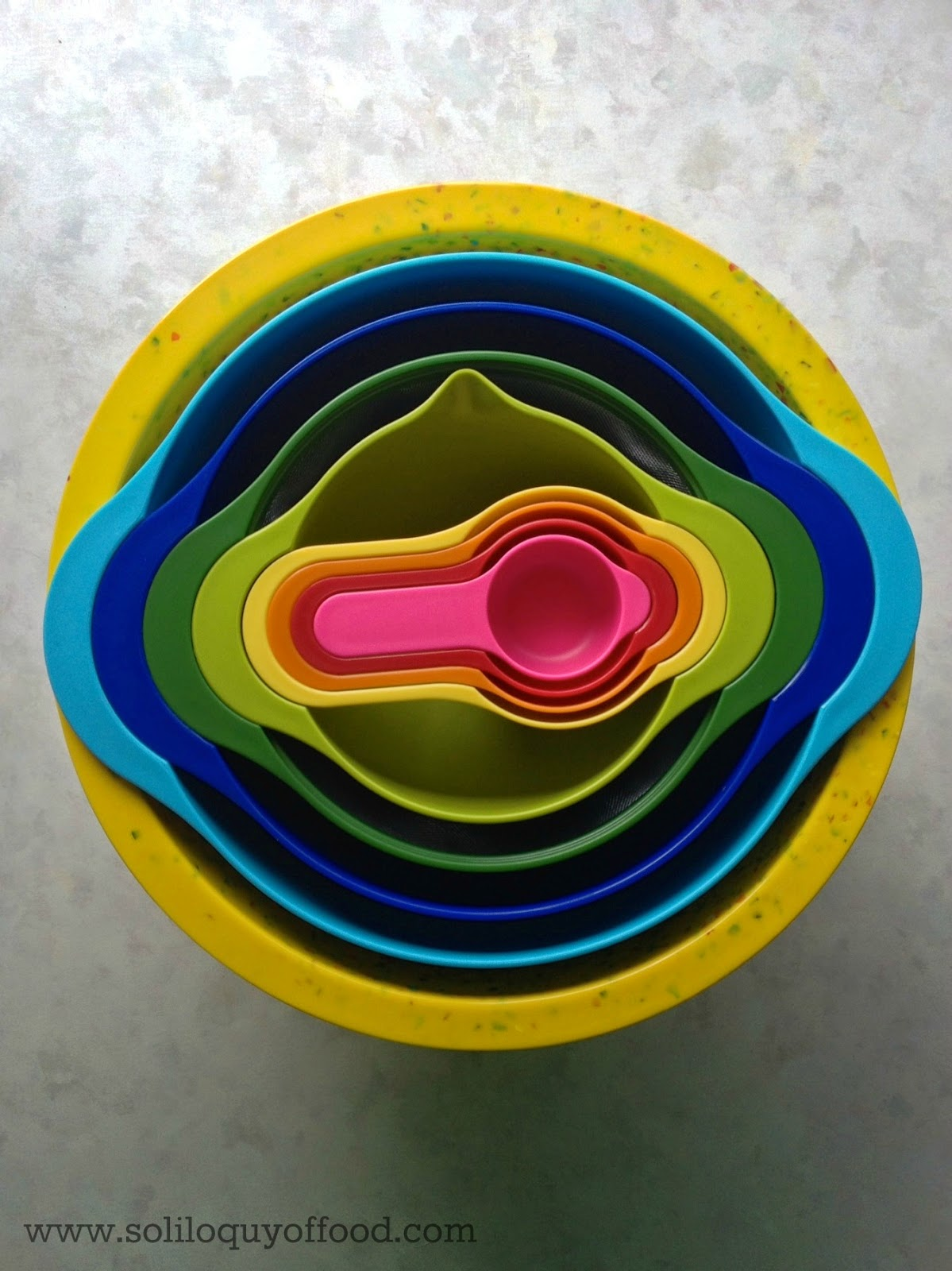 Fridays Find:  Joseph Joseph Wares - It All Fits In My Zak Bowl!! - www.soliloquyoffood.com