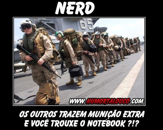 Motivacional: NERD no exército