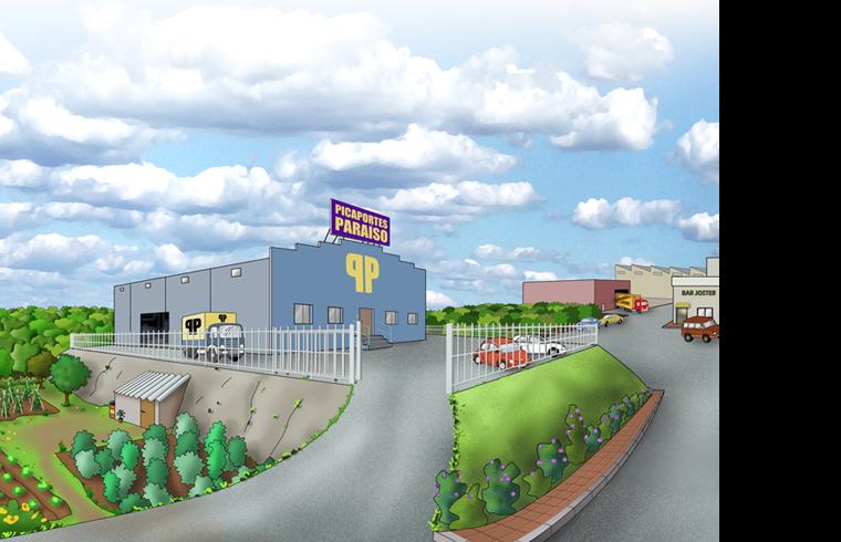Picaportes Paraíso,  la siniestra fábrica de complementos para puertas donde todo comenzó.