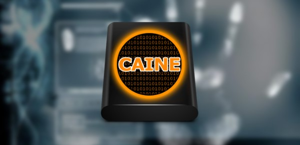 """CAINE 9"" بالتحقيقي الجنائي CAINE-anأ،lisis-fore"