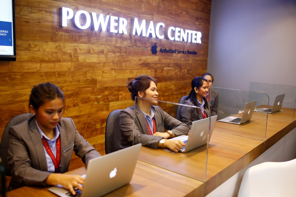 Power Mac Center SM Megamall store's Apple Authorized Service Provider