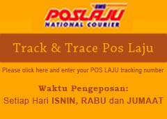 We use POS LAJU Only  and POS REGISTER for international