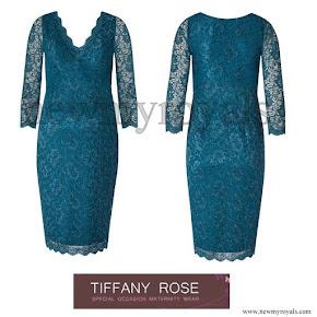 Princess Sofia wore Tiffany Rose Chloe Maternity Lace Dress
