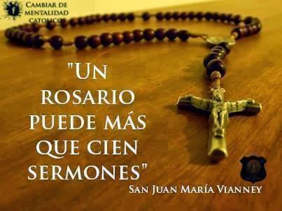 Promesas de la Santísima Virgen María a Quienes Recen el Rosario