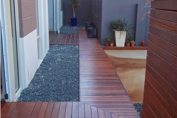 Lantai Kayu Luar Rumah Outdoor