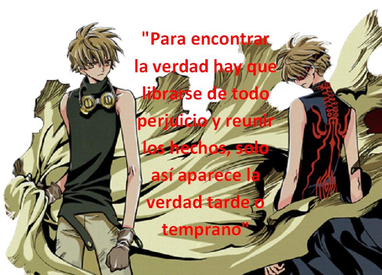 Frases con fotos del anime. SHAORAN