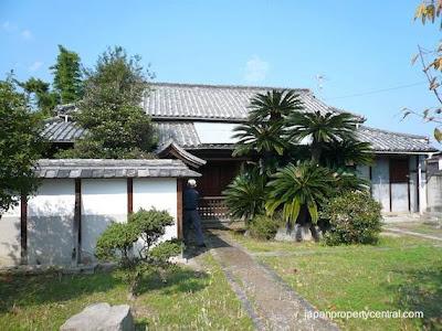 Casa japonesa tradicional muy antigüa
