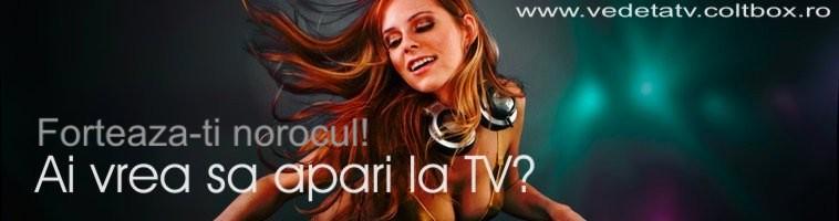 Ai vrea sa apari la TV?