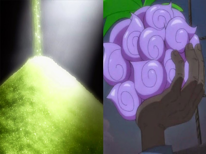 rain powder dan devil fruit (ONE PIECE)