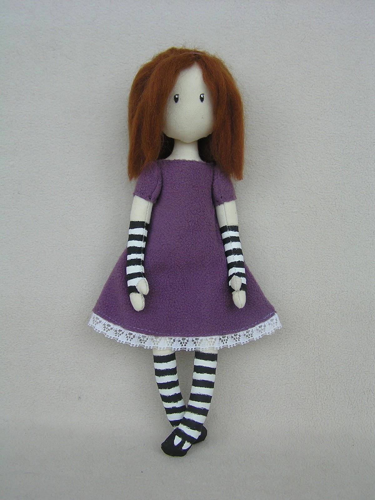 Платье для куклы вулкотт