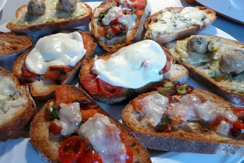 Bruscetta mit Tomaten