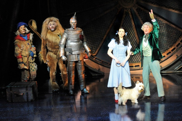 the wizard of oz broadway play