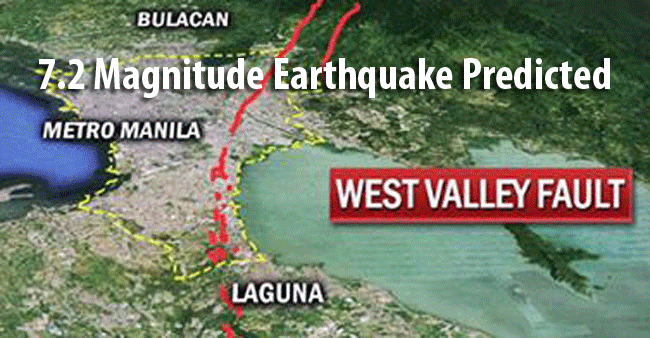 Study Shows that 37,000 May Be Killed of Earthquake in Metro Manila and Rizal