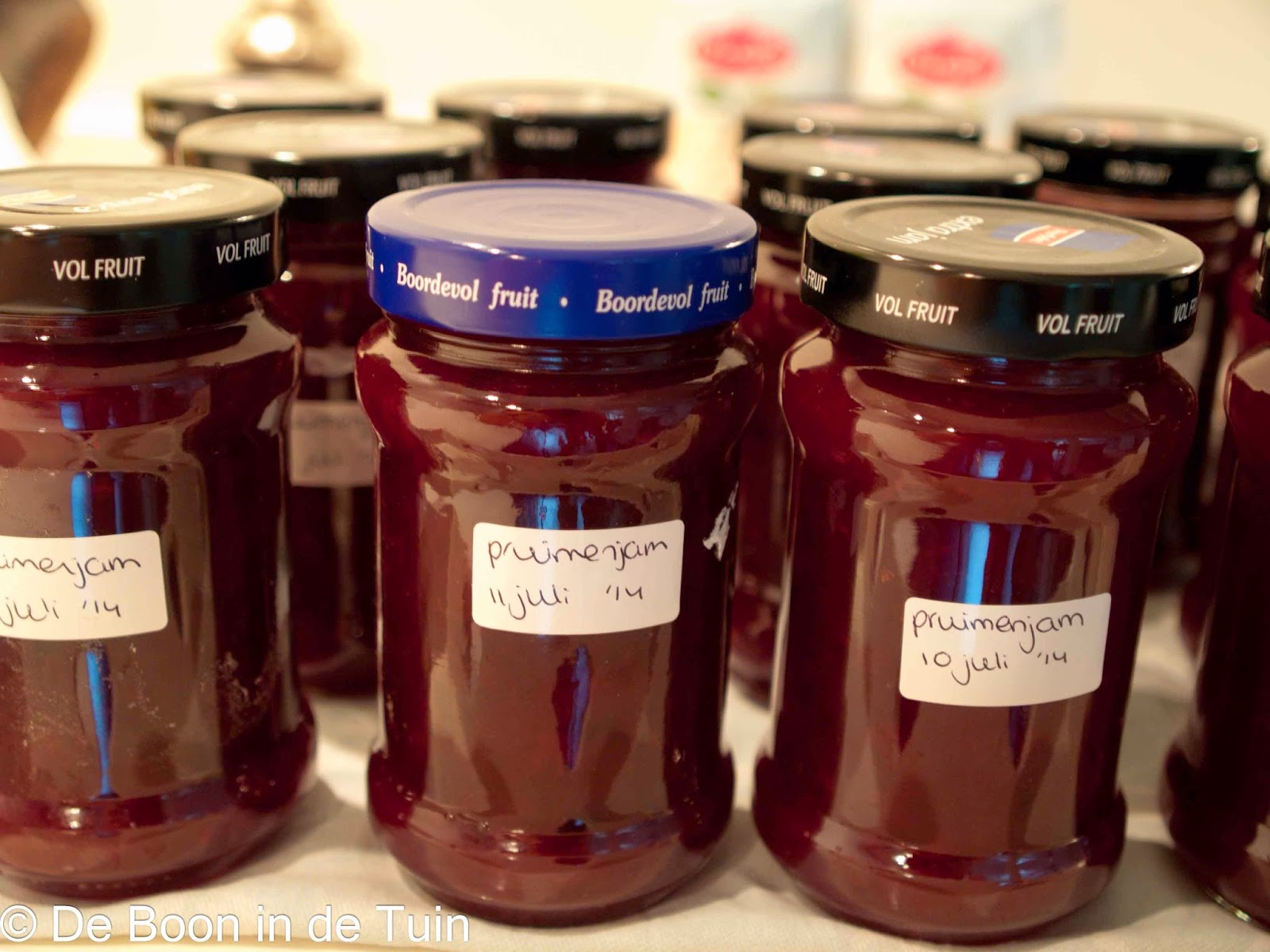 pruimenjam pruimen jam maken