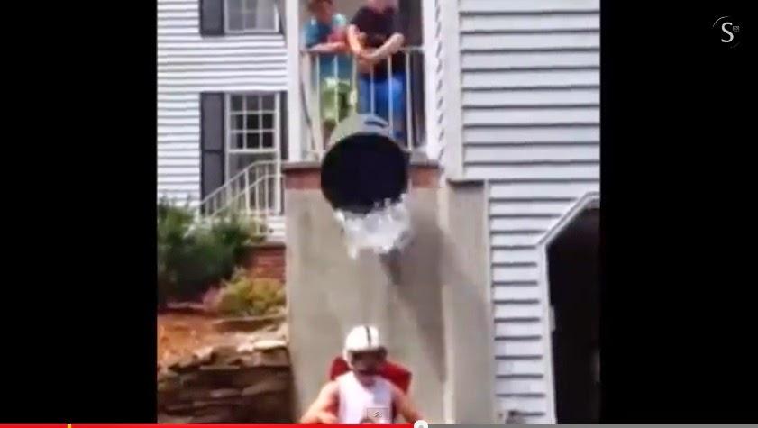 ALS ice bucket challenge accident