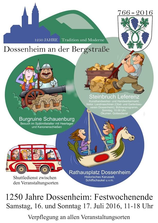 1250 Jahre Dossenheim