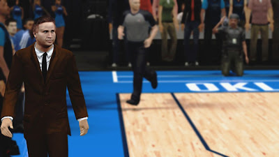 NBA 2K13 Scott Brooks OKC Coach Face Update