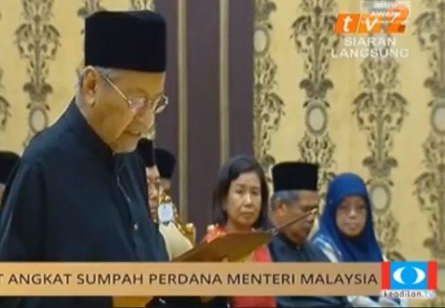 "ALHAMDULIL LAHU ! CONGRAT PAKATAN ! CONGRATS ""ATUK MAHATHIR ! "" 4  A BETTER MALAYSIA BY HIS GRACE!"