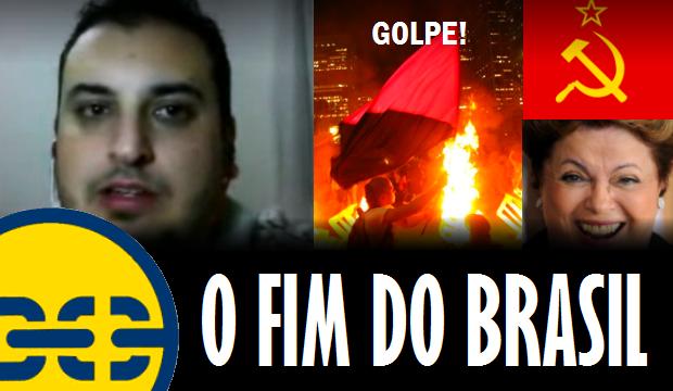 Novo vídeo do Canal Libertar: O fim do Brasil!