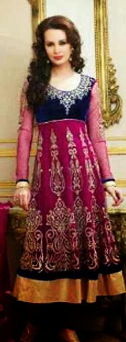 Model gamis sari Baju gamis model india 2015