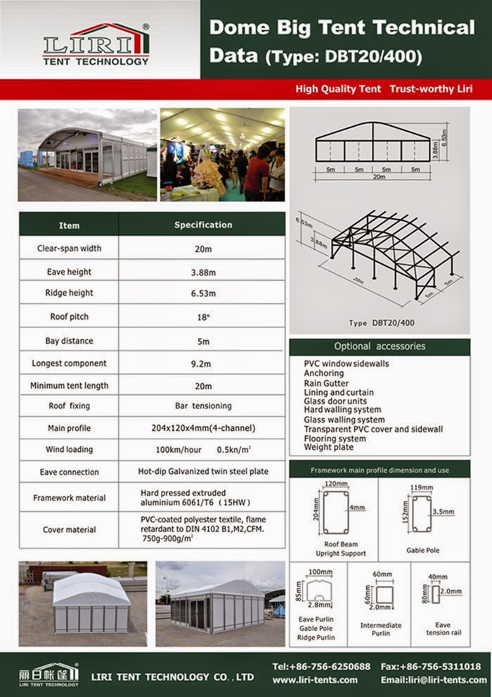 used commercial tents for sale