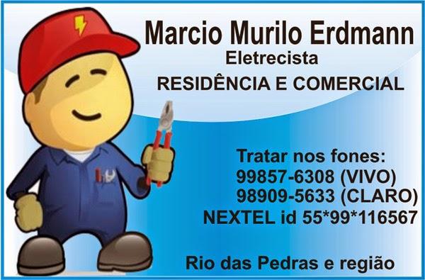 MARCIO MURILO ERDMANN - ELETRECISTA