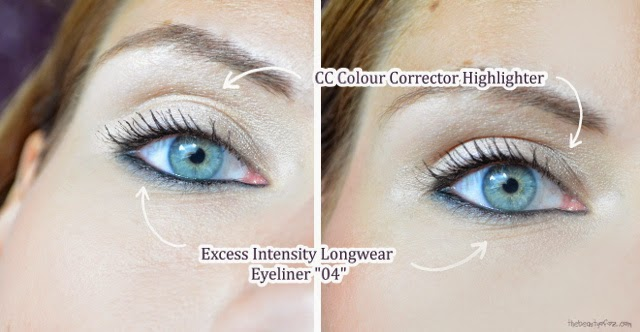 Max Factor CC Colour Corrector Highlighter & Excess Intensity Longwear Eyeliner