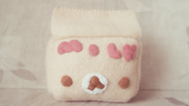 Korilakkuma, Milk Carton Plushie, Tutorial