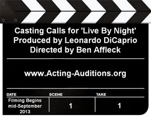 Live By Night Boston Casting Call