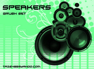 Speakers Photoshop Brushes, brushes photoshop, Photoshop Brushes, CS5