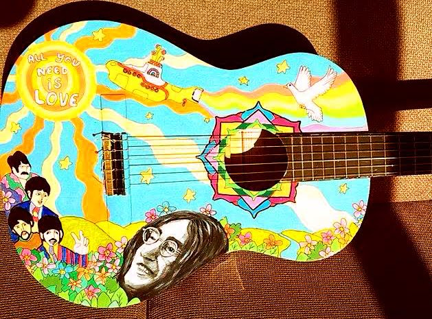 Beatles Guitar - John Lennon