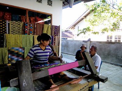 Sukarara Village Weaving Cloth