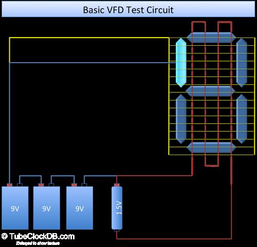 Схема тестера для проверки ВЛИ