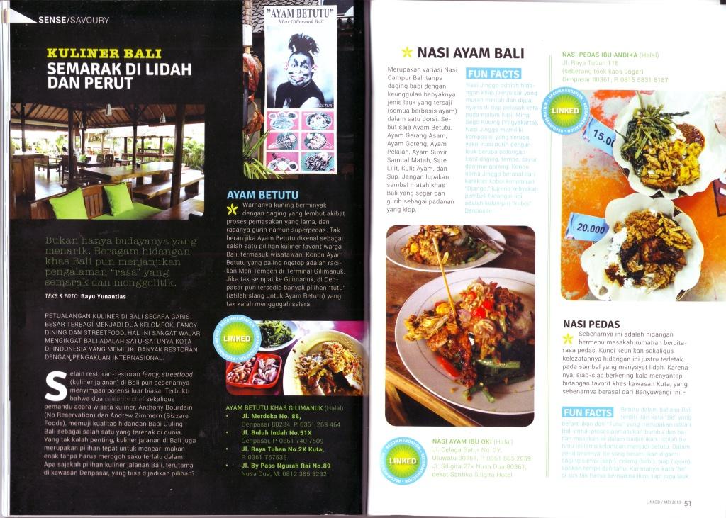 Epicurina - Bali Food Adventure Blog: Semarak Kuliner Bali